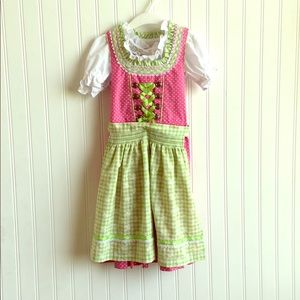 Other - Authentic Girls Dirndl Oktoberfest Dress